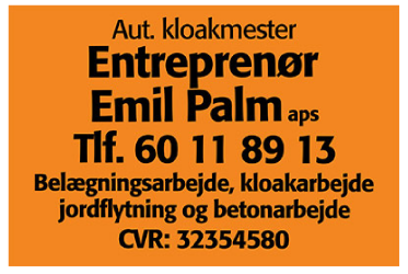 Entreprenør Emil Palm