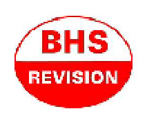 BHS Revision